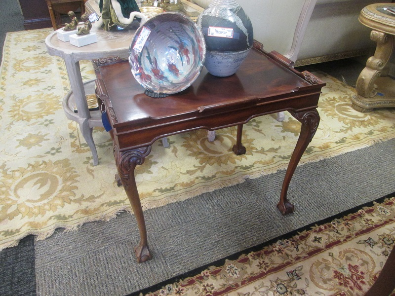 Vintage Tall Tea Table