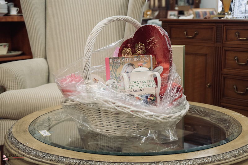 Legacies Book Review gift basket