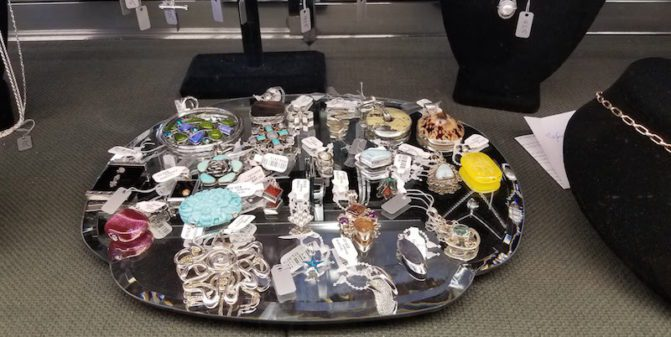 consignment jewelry at Legacies in Cincinnati