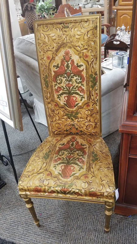unique chair from legacies in cincinnati